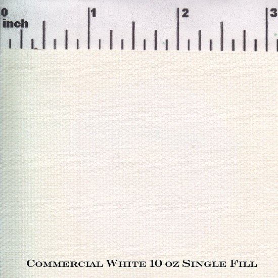 Commercial White 10 oz. Single Fill Duck WR