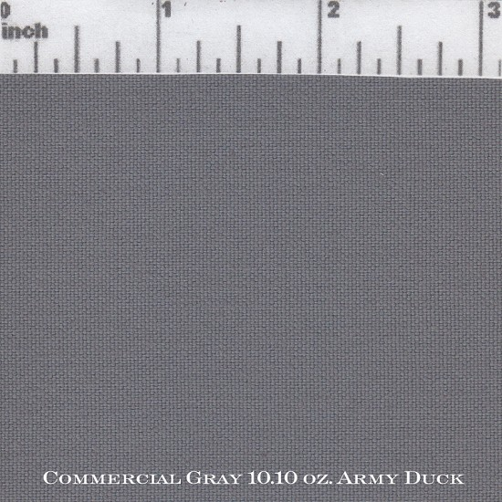 Commercial Gray 10.10 oz. Army Duck WR