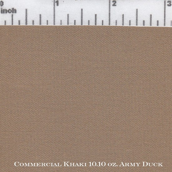Commercial Khaki 10.10 Army Duck WR